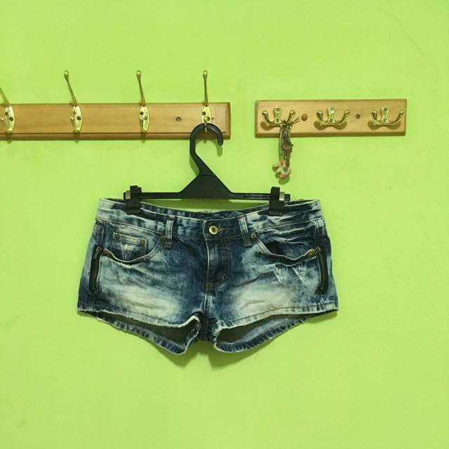 超短牛仔褲