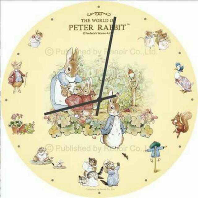 雷諾瓦 比得兔時鐘拼圖
