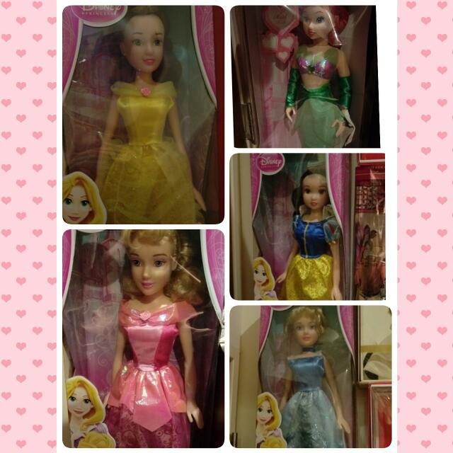 正版 Disney 公主大娃娃