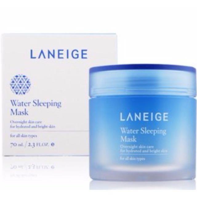 (🇰🇷韓國帶回)LANEIGE 蘭芝 睡美人香氛水凝晚安面膜-淨白保濕升級版
