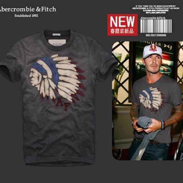 Abercrombie&Fitch AF 男款T-shirt