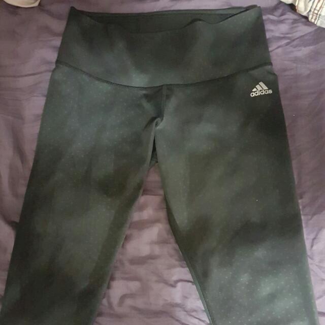 Adidas Climalite Cropped Workout Pants