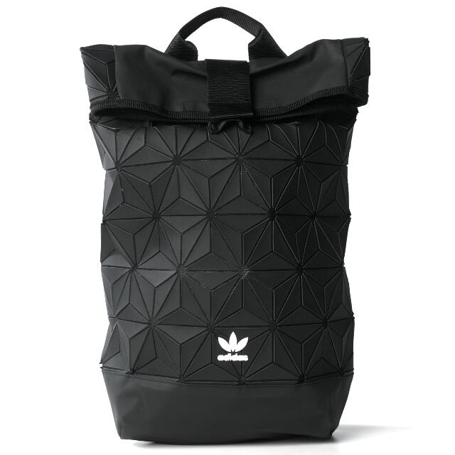 a81b504ae7c40 Adidas Originals 3D Mesh ROLL UP BACKPACK - Issey Miyake Style Bag ...
