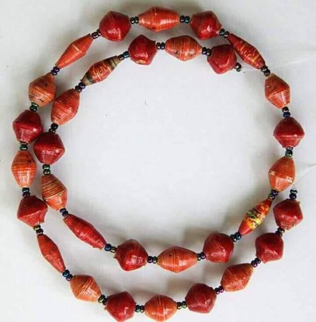 African Craft Necklace-Hand Made