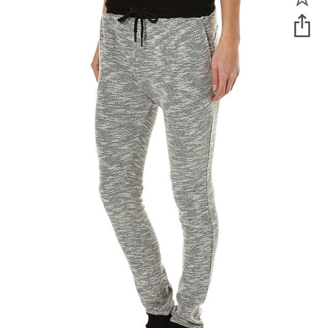 All About Eve Grey / Black Trackie