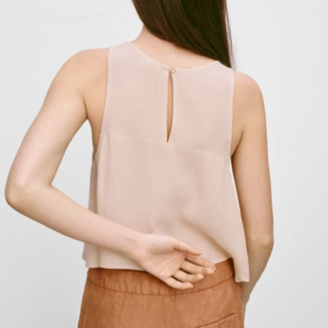 Aritzia Wilfred Octave Blouse