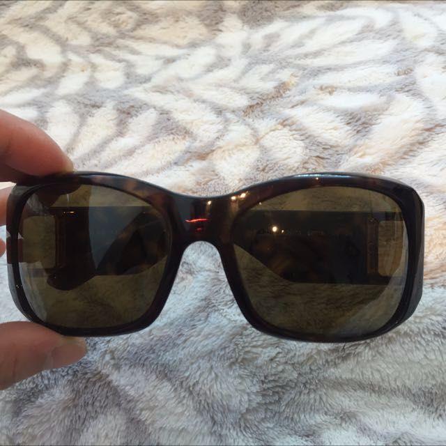 Authentic Burberry Tortoise Shell Sunglasses