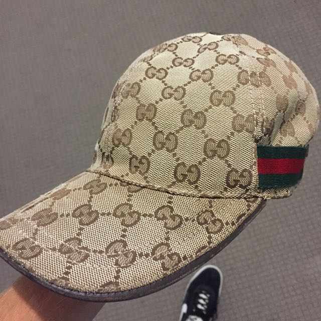 52a65fe429f6d Authentic Gucci Hat