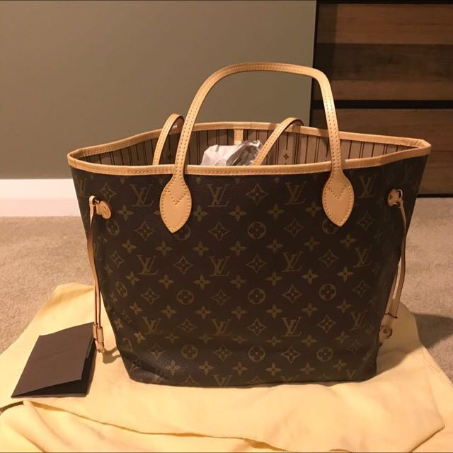 Authentic Louis Vuitton Neverful MM