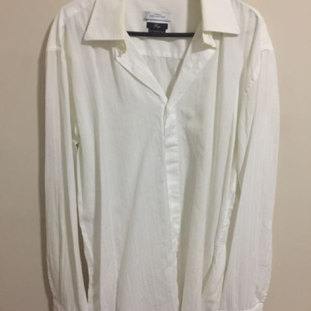 Size XL Versace Suit Shirt