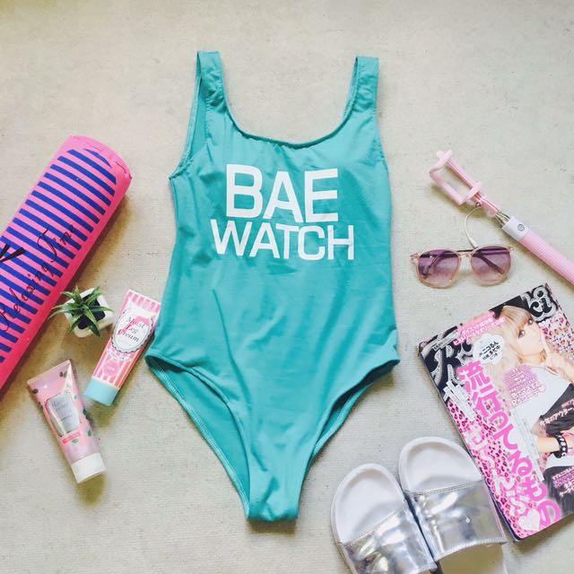 Bae Watch (blue green)