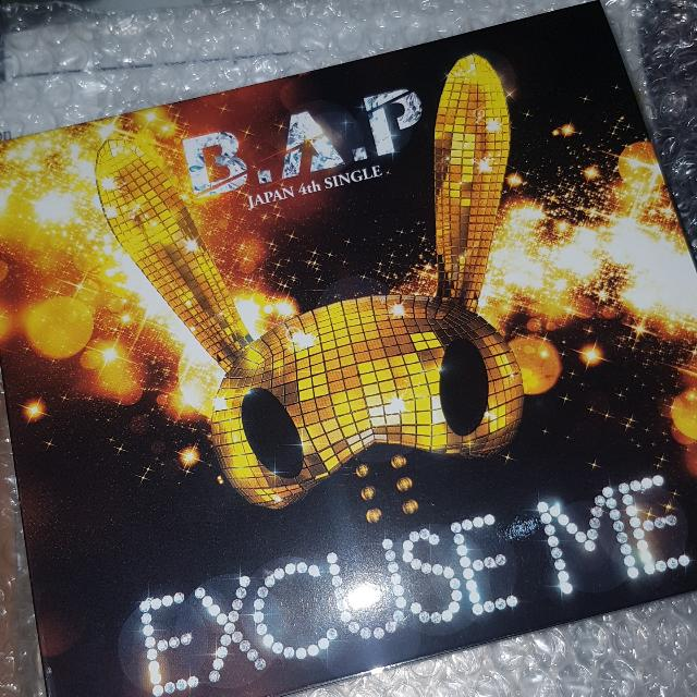 B.A.P Excuse Me JAPAN album (Without Photocard)