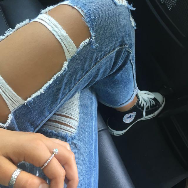 Bardot Boyfriend Jeans