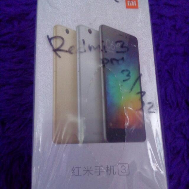 Box Xiaomi Redmi 3 Pro