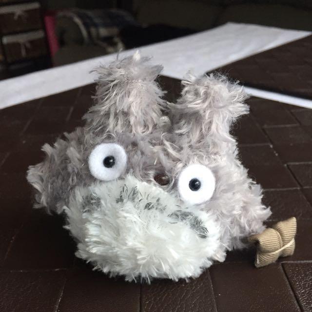 Brand New Grey Plush Totoro