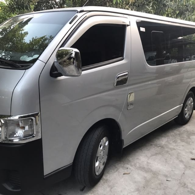 BRAND NEW VAN FOR RENT!!