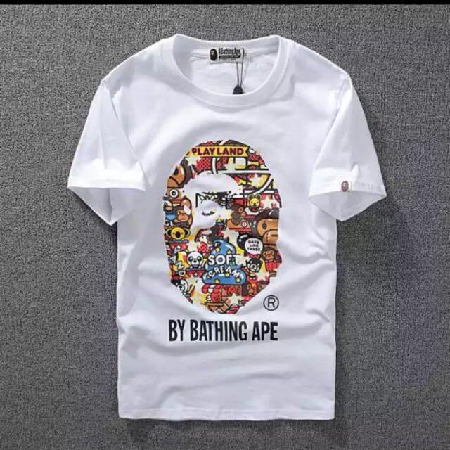 bape t shirt tag