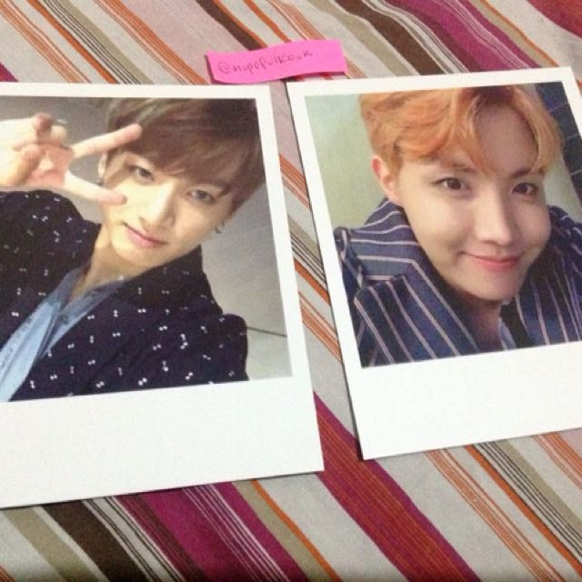 BTS WINGS PHOTOCARD