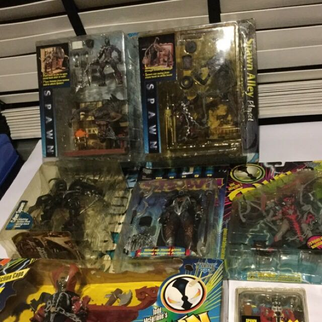 Bundle Of Spawn Action Figures