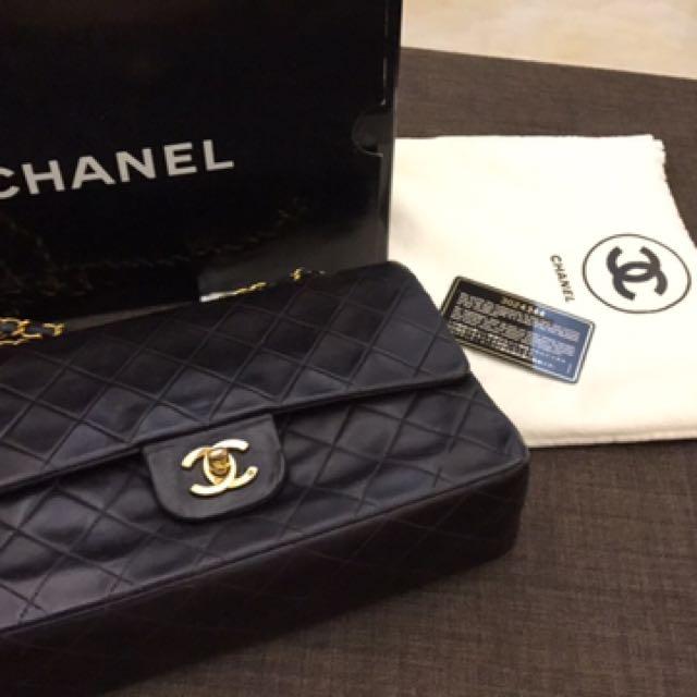 Chanel Vintage Double Flap 25cm