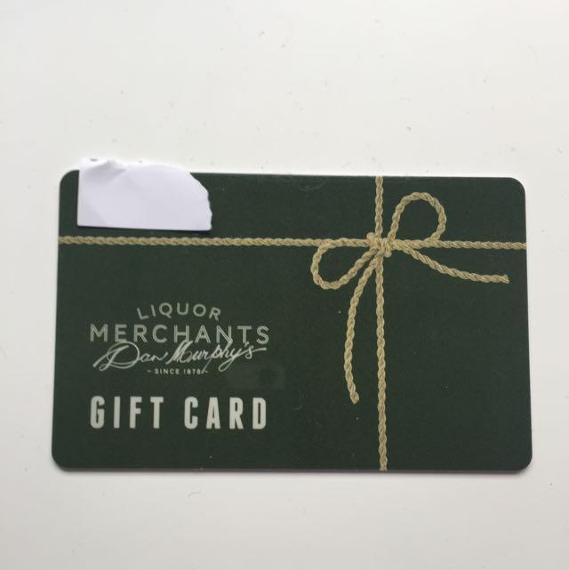 Dan Murphy's $100 Gift Card