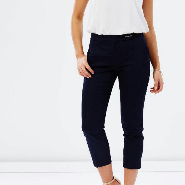 Dorothy Perkins Cotton Crop Trousers