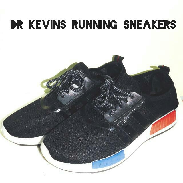 DR. KEVINS MEN RUNNING SNEAKERS BLACK