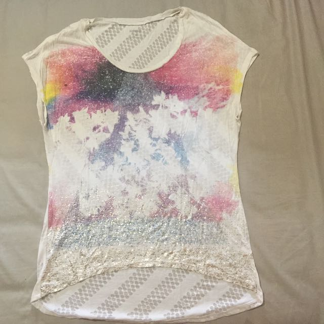 Express Tee High And Low