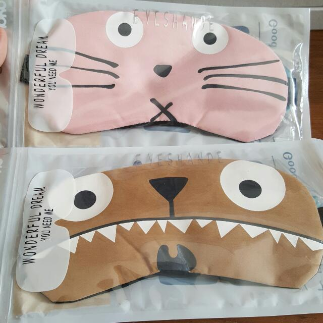 NEW - Eye Mask With Gel