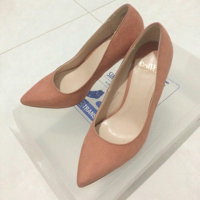 Faith Peach High Heels - Sepatu Hak Wanita