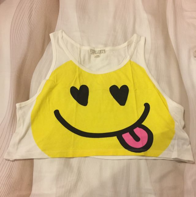 Forever 21 Smile Top