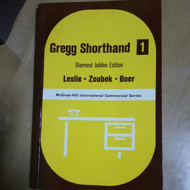 Gregg Shorthand 1