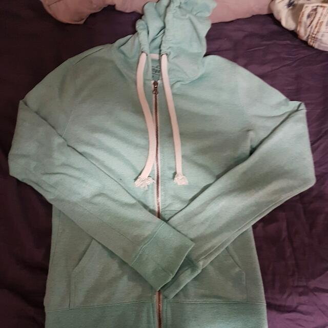 West 49 Heathered Turquoise Hoodie