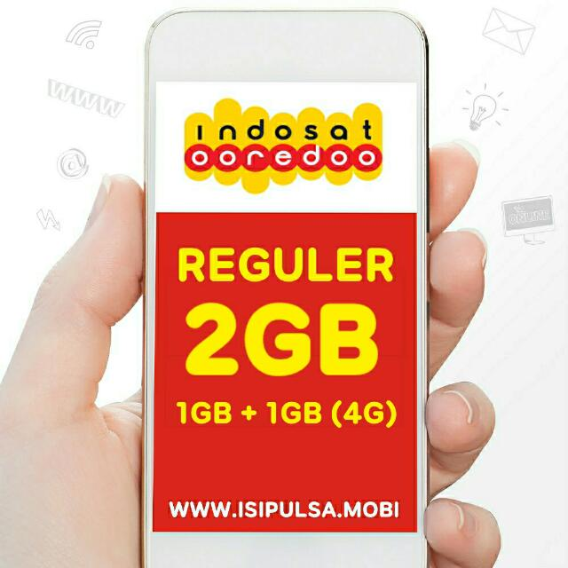 Indosat Internet Plus 2GB