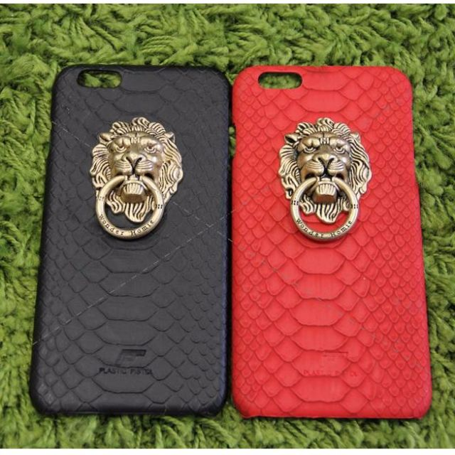 iPhone 6 or 6 Plus case - Ultra-thin leather/PVC skin