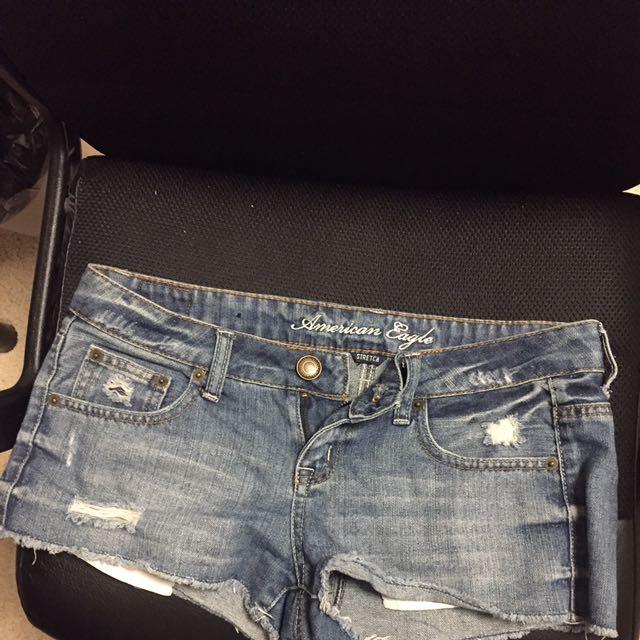 jean shorts size 26-27