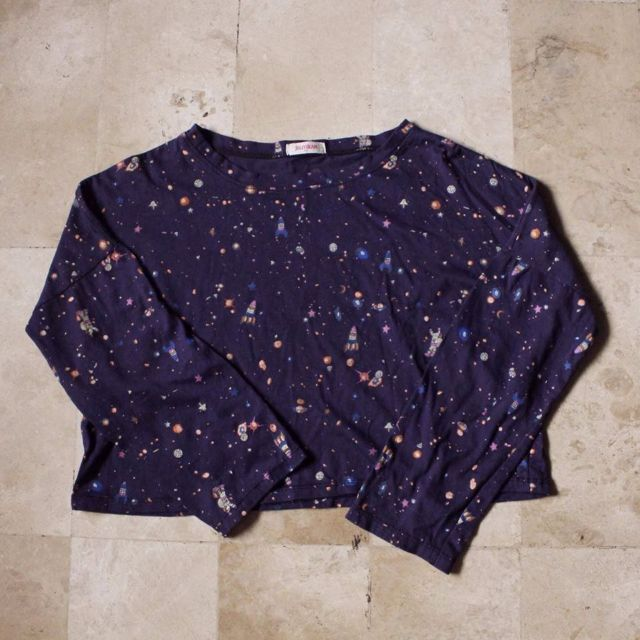 jellybean cropped sweater