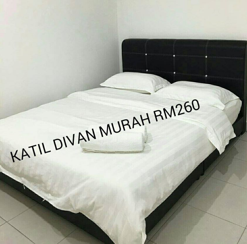 Katil Divan Saiz Queen Set Baru Rm 260 Home Furniture On Carou