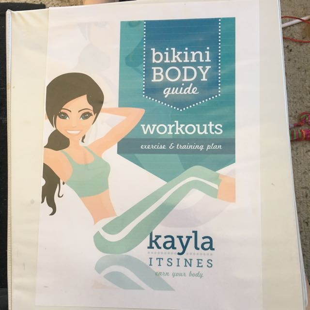 Kayla Itsines Bikini Body Guide