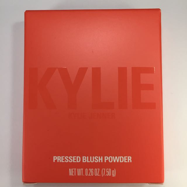 Kylie Jenner Pressed Blush Powder - Hot And Bothered