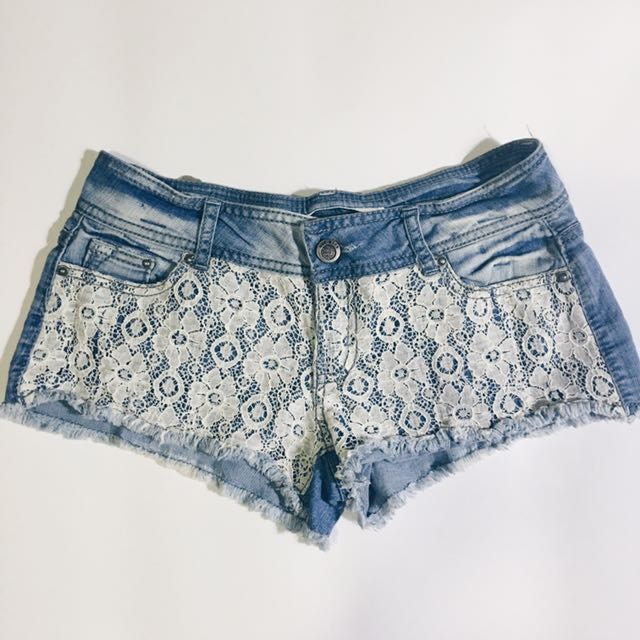 Lacey Denim Shorts