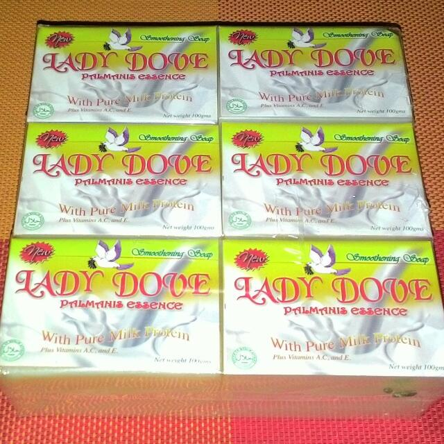 LADY DOVE Beauty Soap Palmanis Essence Smoothering Soap With Pure Milk Protein