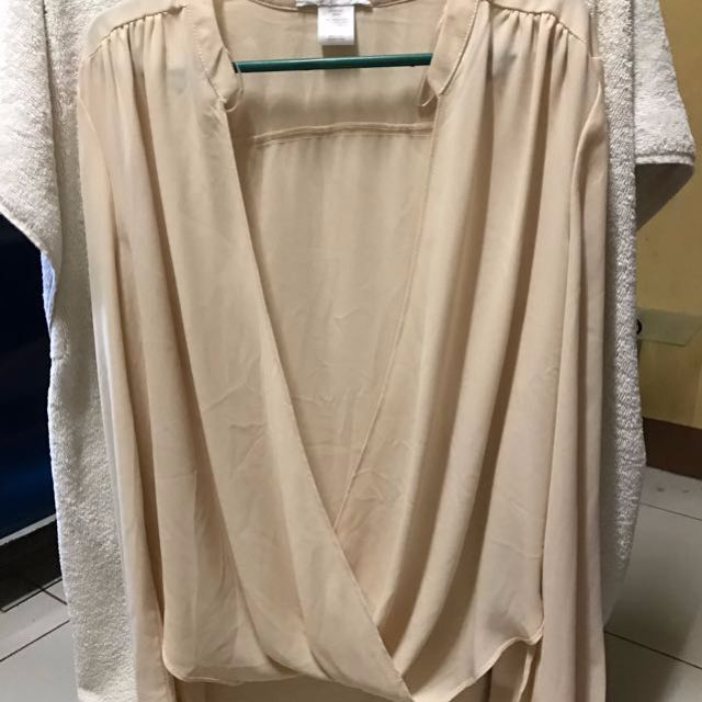 long sleeve Tops Cream