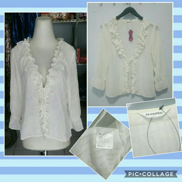 Long Sleeves White Outer