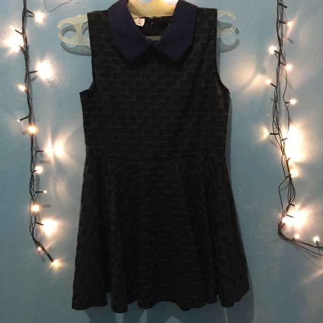 Mini Dress Jrep Green Black