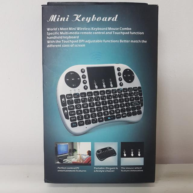 58404dceb7a mini wifi wireless keyboard + mouse pad - air keyboard, Home ...