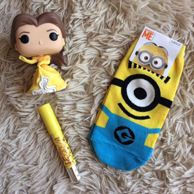 Minions Ankle Socks (REPRICED ✨)
