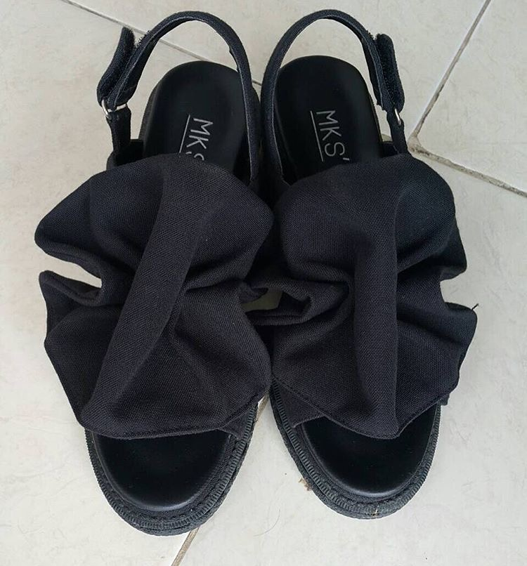 MKS´ Black Heels Sandals