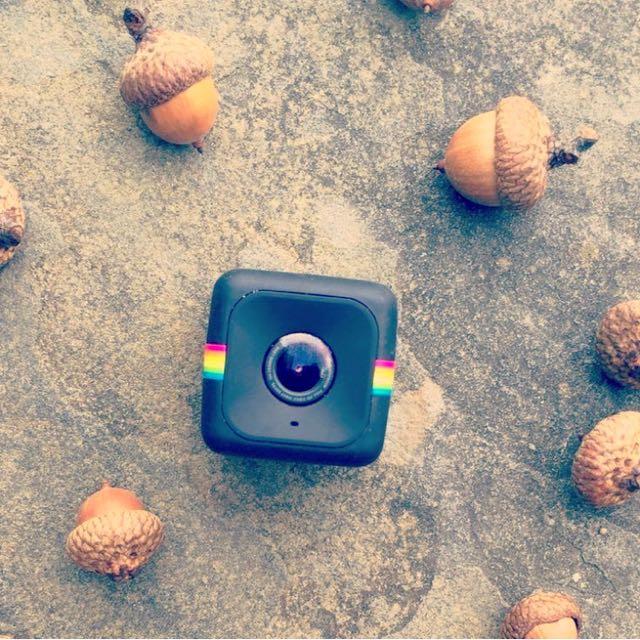 NEW Black Vlogging Polaroid Cube Camera HD 720/1080p