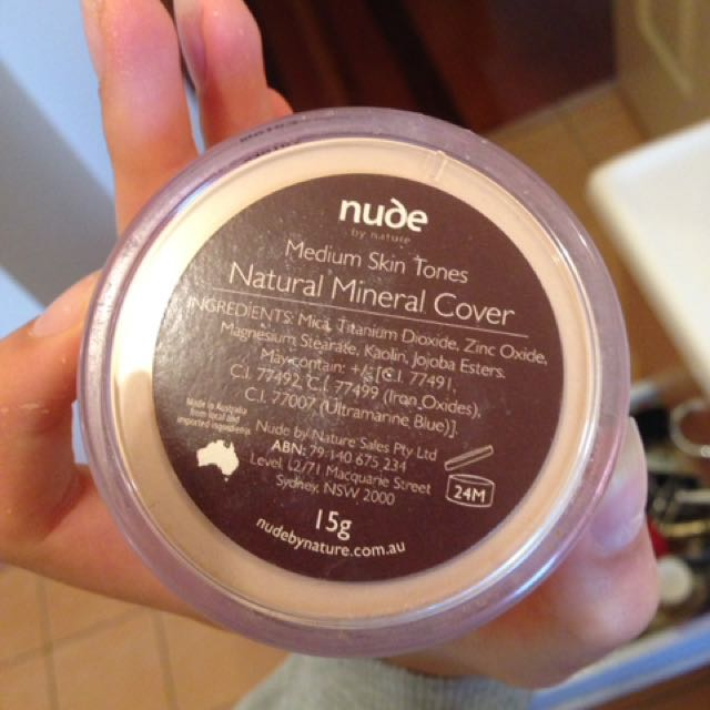 Nude Natural Mineral Cover